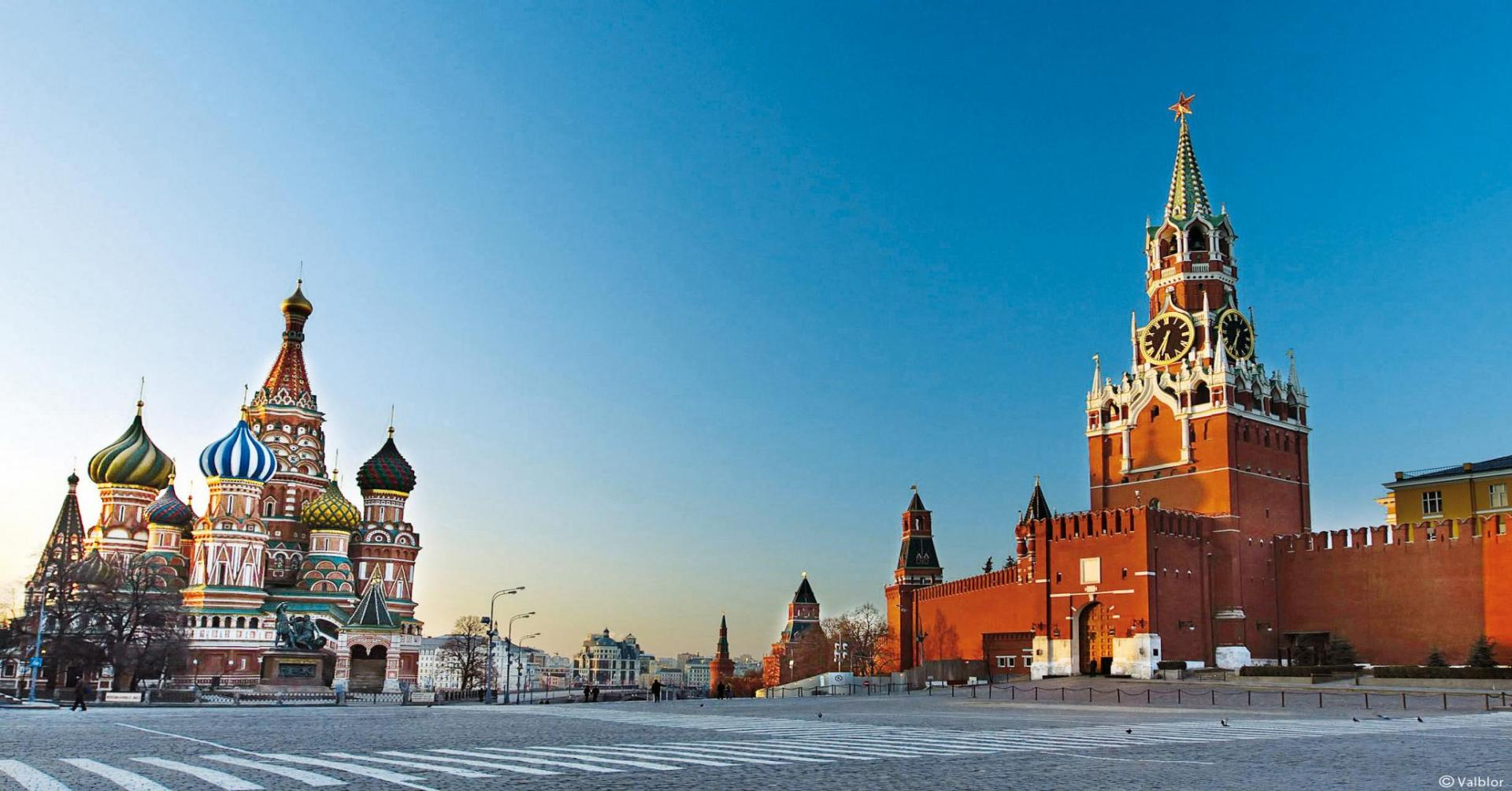 Russie-Moscou-Place rouge